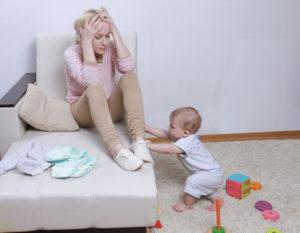 безрадостное материнство