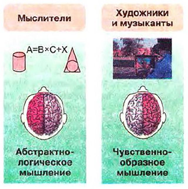 Разница восприятия