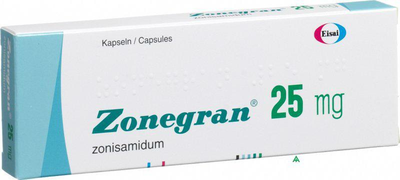 Зонегран 25 мг