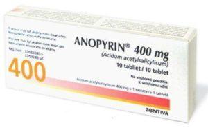 Анопирин при инсульте