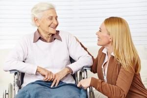 бабушка инвалид