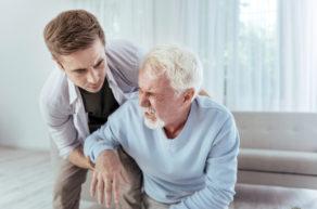Дедушка после инсульта