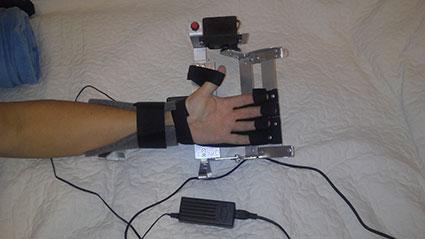 миостимулятор для пальцев рук
